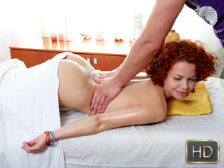 Teen full body massage